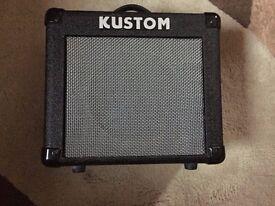 Kustom KGA10 10 Watt lead guitar amplifier. Excellent condition, complete with power lead. 10 watts.