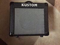 Kustom KGA10 10 Watt lead guitar amplifier. Excellent condition, complete with power lead. 10 watts.