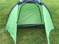 Two person tent, small but great for a short trip or for kids in the garden!