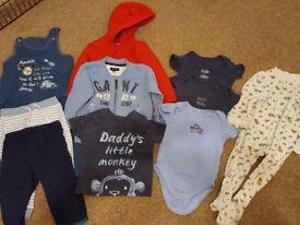 Boys 9-12 months clothes bundle