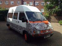 Fun, affordable and low milage Renault Trafic campervan
