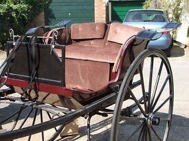 pleasure vehicle lezbee gig horse cart