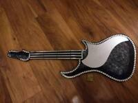 Mosaic guitar mirror