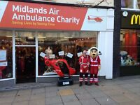 Self Employed Van Driver (own van) Wanted to support Midlands Air Ambulance Charity