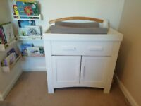 Cosatto Hogarth cot bed and changing unit. £50.