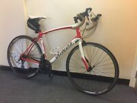 Specialized secteur entry level road bike with extras best on gumtree ready to commute bargain c