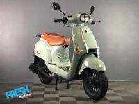 Neco Lola 50 Iced Blue 50cc Scooter - Brand New Learner Scooter / Moped
