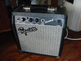 Vintage Fender Squier SIDEKICK guitar practice amp Korea