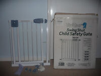 Tippitoes Swing Shut Child Safety Gate Narrow model x 2