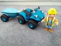 Bob the builder vehicle and figure