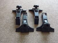 Thule foot pack 951 roof rack gutter fixing
