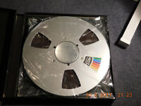 Ampex407 ( 10.5 inch) Reel to Reel Tapes NEW in Packaging ( 4 available plus empty reels also)