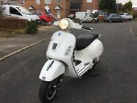 PIAGGIO VESPA GTS 300 cc WHITE 11 plate stunning hpi clear no offer!!