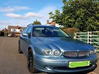 Jaguar x-type 2.2d sport estate top spec sat nav addition