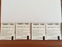 Thorpe Park Entry Tickets