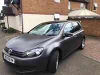 1.6 VOLKSWAGEN GREY METALLIC WRAPPED GOLF