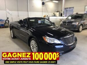 2011 Chrysler 200 TOURING**CONVERTIBLE**SIEGES EN CUIR**BAS KM**