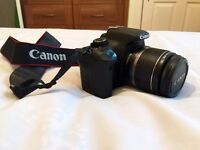 Canon 500D Digital SLR Camera & 18-55mm lens with 4GB SD card and 2 batteries for sale