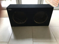 10' Double XL Series enclosed bass box