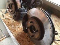 St170 brakes conversion