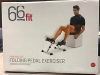 Pedal exerciser fitness equipment