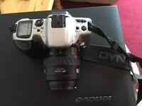Minolta Dynax 500si film camera plus extras