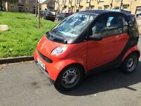 Smart city pure semi automatic very low miles bargain