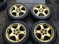 "Subaru Impreza 16"" Alloy Wheels"