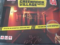 Brand New Murder in Greenrock Village Hotel Board Game - Murder Mystery 2-4 players aged 12+ years