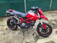 Ducati Hypermotard 796 very low mileage recent MOT and SERVICED