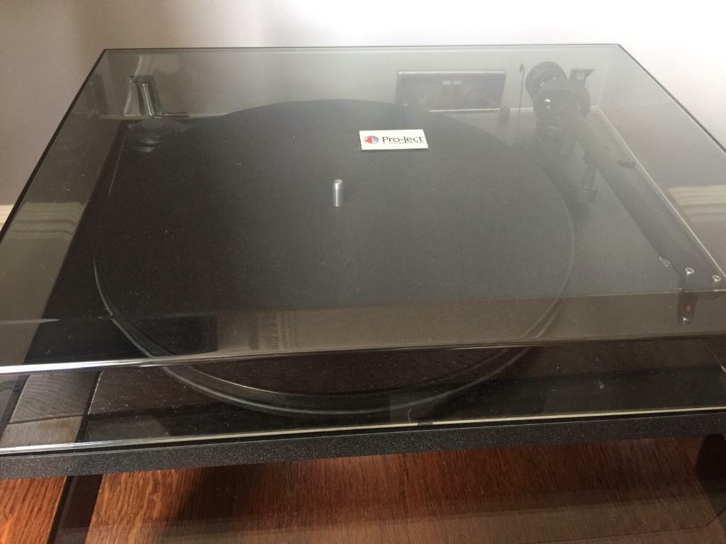Project Turntable with Ampin Gateshead, Tyne and WearGumtree - Project turntable including separate amp, used 3/4 times, collection cash only