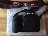 Second Hand Canon 5D Mark II body only - price negotiable