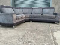 Grey Harvey's corner sofa, couch, suite, furniture