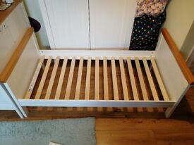 Mothercare Summer Oak Cotbed - used