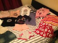 Large selection of little girls clothes