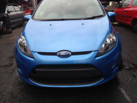 BREAKING - FORD FIESTA MK8 2009-2012 - COMPLETE FRONT END - BLUE - ALL PARTS AVAILABLE