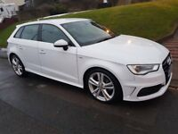 Audi A3 1.6 TDI S-Line 2013, Sportsback, Fully loaded, Sat Nav, Damaged repaired