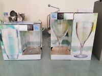 Hiball / flutes / mixture of glasses / never been used - in boxes - £25 - negotiable