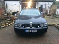 Bmw 7 series 730D 2003 breaking parts