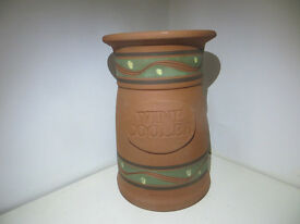 Handmade Pottery Wine Cooler Kiltrea Bridge Pottery Ireland Irish Studio Pottery Art Pottery
