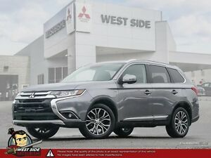 2016 Mitsubishi Outlander GT–Accident Free–One Owner–3.0L V6