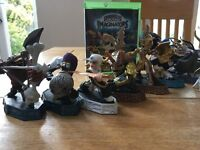 Amazing 'all you could want' Skylanders Imaginators bundle - Game + 7 characters + 9 crystals