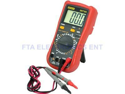 Universal Handheld Digital Multitester Ammeter Voltmeter Low Current Multimeter