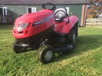 Large Garden tractor ride on mower sit on lawnmower lawn tractor