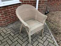Stylish and Superb quality occasional hard wicker chair
