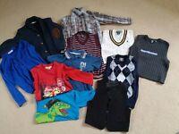 Boys clothes size 122/128