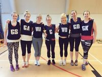 Spaces left for individuals to sign up for Shoreditch Tuesday netball league!