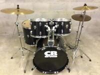 CB Drums Top of range SP1 Drum Cymbals Stands Complete kit