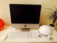 Apple iMAC (20 inch) fully restored to factory settings with JBL speakers