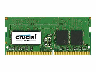 Crucial 8Gb Ddr4 2400 Mhz Pc4 19200 Sodimm 260 Pin Laptop Memory